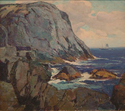 Adomeit, George G. - Coastal Scene, 1947, NFS