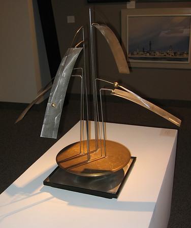 Clague, John - Twitter Machine, 1976, NFS<br /> stainless steel and bronze