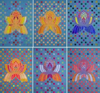 Sanderson, Doug - Flora prime, lotus {birds of paradise}