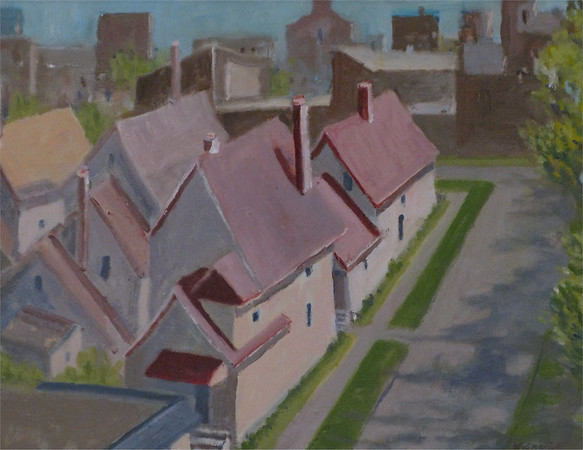 Gould, Bill - untitled (Rooftops), 2010, NFS