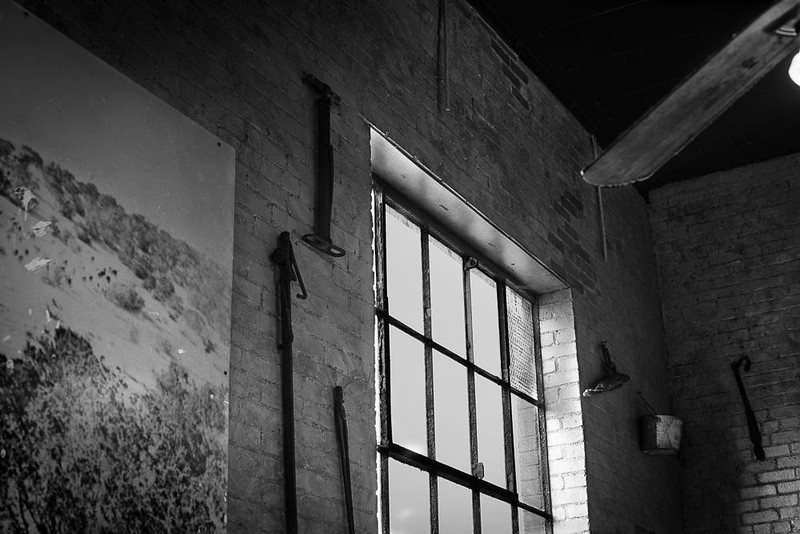 Window in Deep Ellum Restaurant - Dallas, TX - Photo by Randy Stewart - www.NoPhotosAllowed.com