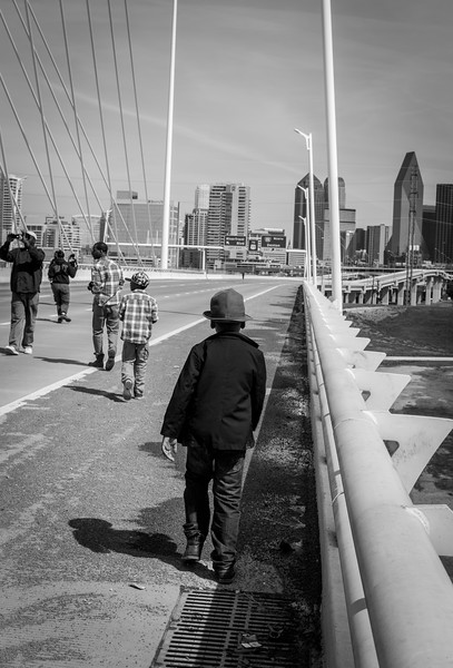 Remembering Selma March - Margaret Hunt Hill Bridge - Dallas, TX (Mar 07, 2015) - Photo by Randy Stewart - www.NoPhotosAllowed.com