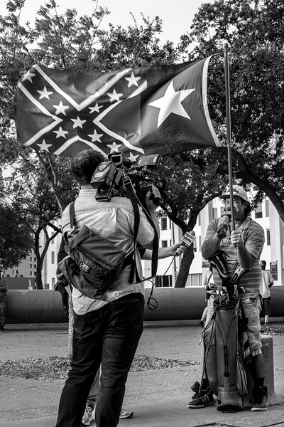 Dallas Against White Supremacy - Dallas City Hall - Aug. 19th, 2017