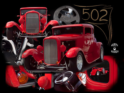 Red32FordCollageblack