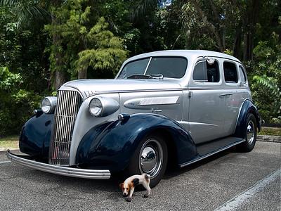 1937 37 Chev Chevy Chevrolet Silver Black Sanibel