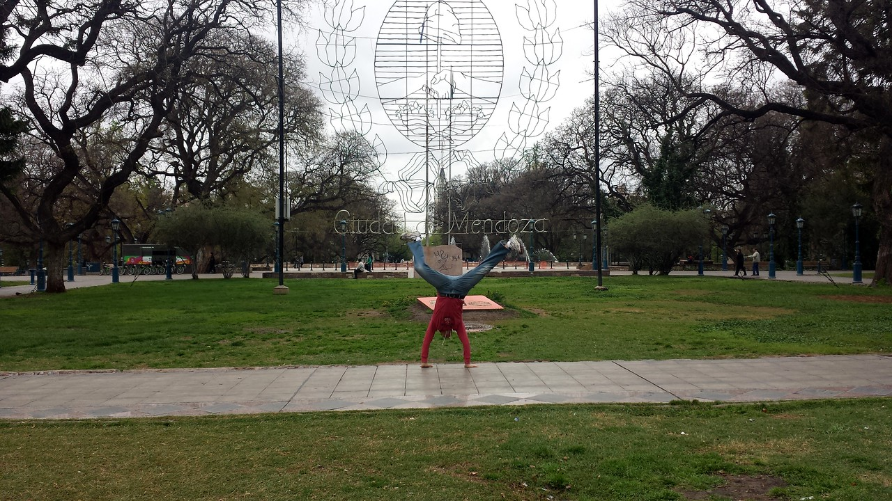 Andres Calderon - Main Plaza - Mendoza, Argentina
