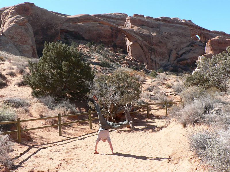 Andres Calderon - Landscape  Arch - Arches National Park - Moab, Utah