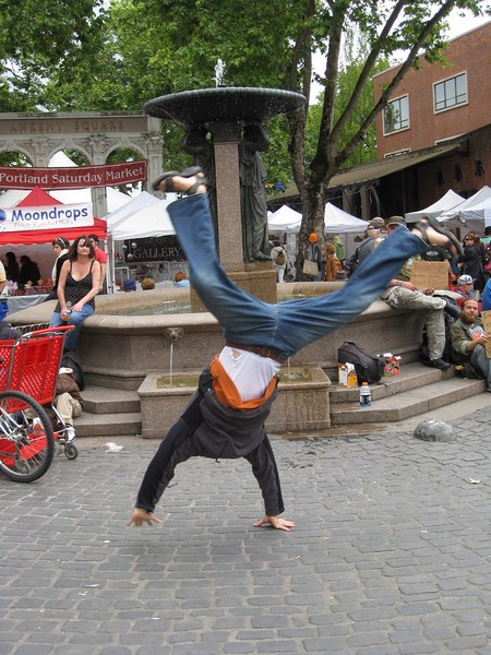 Andres Calderon - Portland Saturday Market - Portland, Oregon