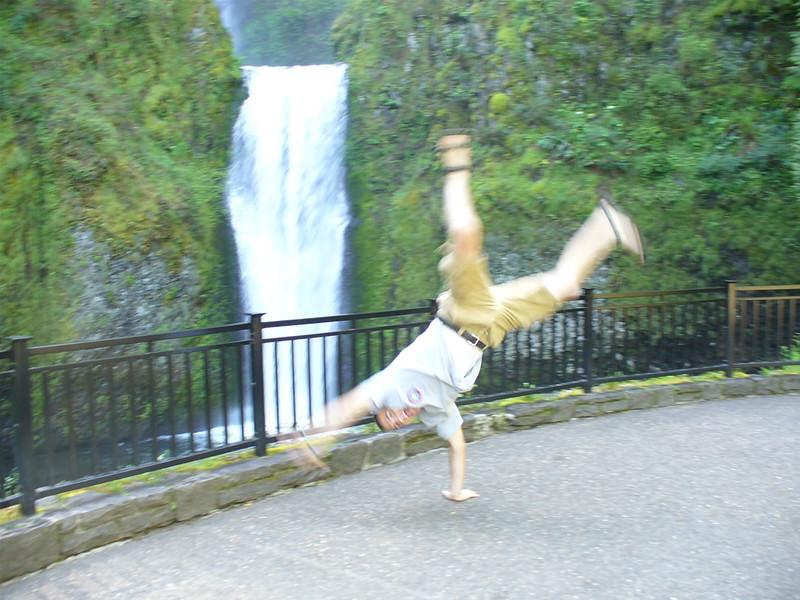 Andres Calderon - Multnoma Falls, Oregon