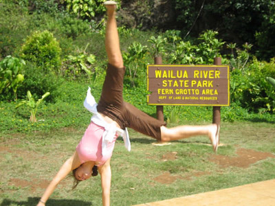 Ana Dalling - Wailua River State Park, Kauai, Hawaii