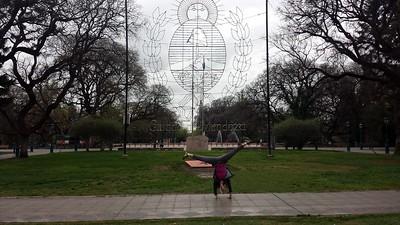 Stacee Calderon - Main Plaza - Mendoza, Argentina