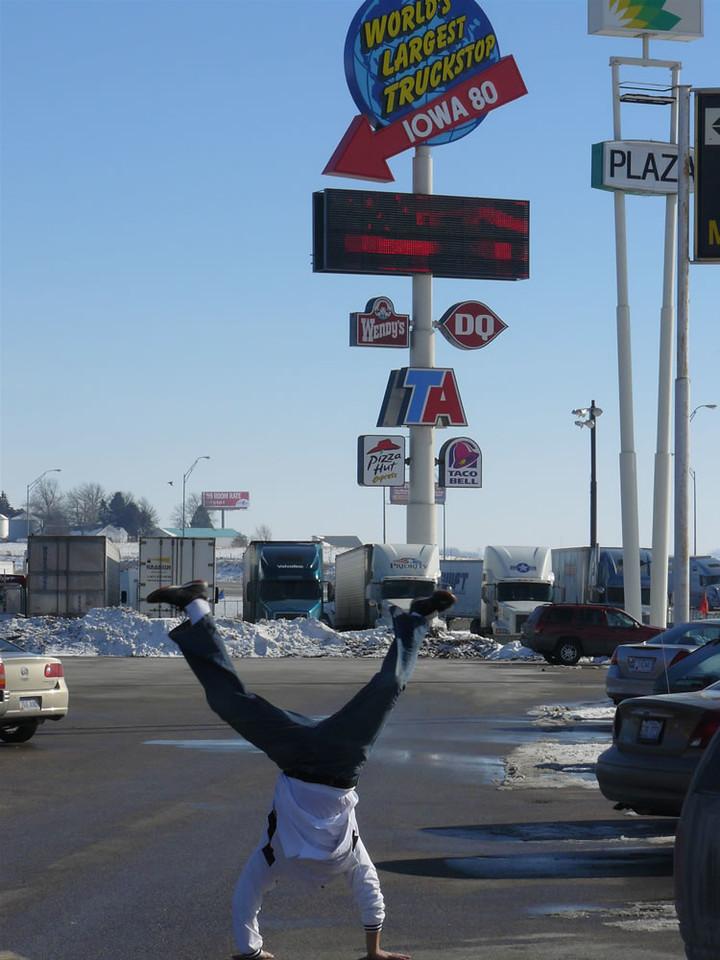Armando Calderon - Iowa 80 Truckstop, Walcott, Iowa