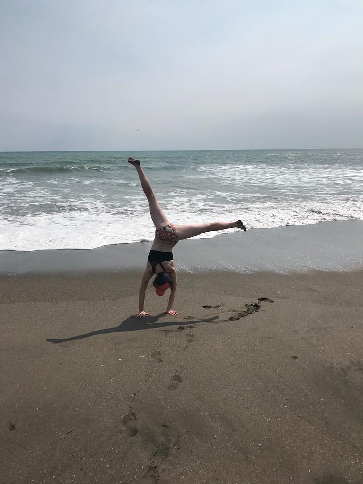 Angie Higdon - Nicaragua - Beach