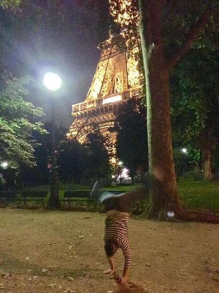 Camille Jones - Eiffel Tower - Paris - France