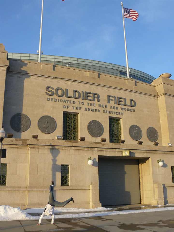 Armando Calderon - Soldier Field, Chicago, Illinois