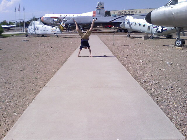 Andres Calderon - Hill Aerospace Museum - Utah - June 2007