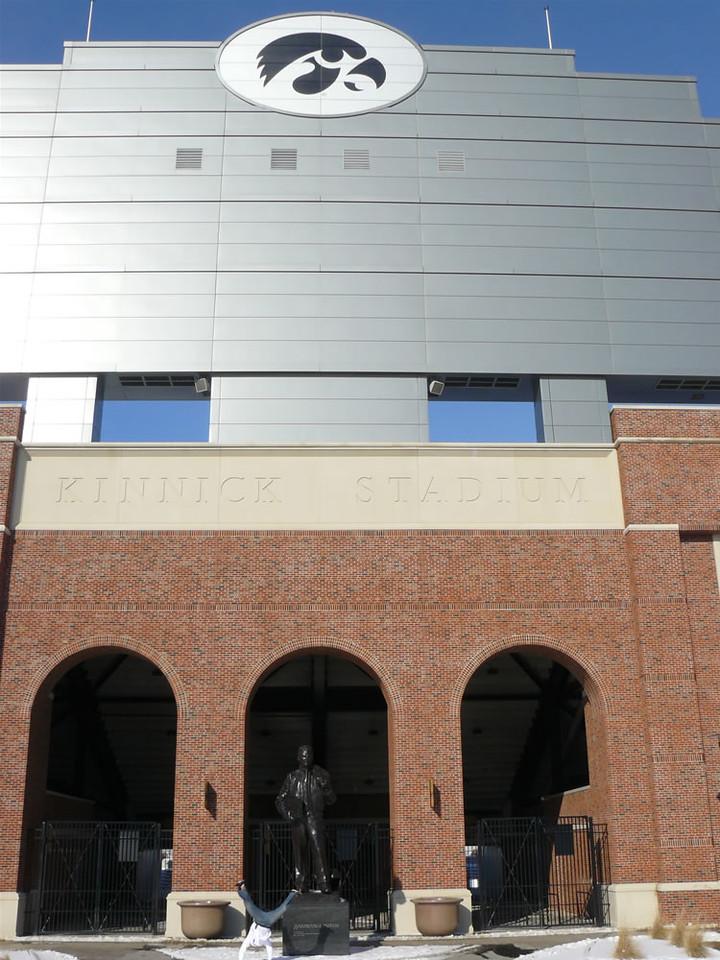 Armando Calderon - Kinnick Stadium, Iowa City, Iowa