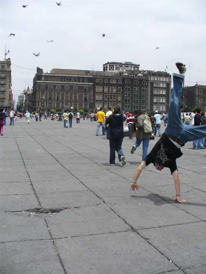 Andres Calderon - Central Plaza - Mexico City, Mexico
