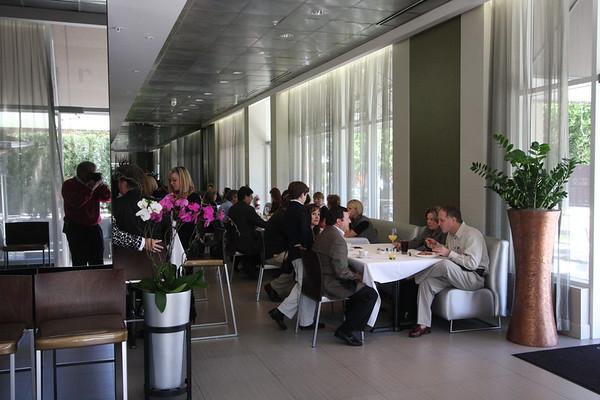 Arnold Palmer Foundation Event @ Graze 1-27-08