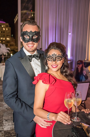 Cocktails For Charity Grand Masquerade Ball Presented By Orlando Health NYE Party @ DPAC 12-31-17