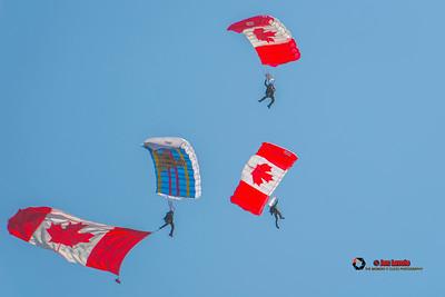 The Canadian Forces Parachute Team, The Skyhawks