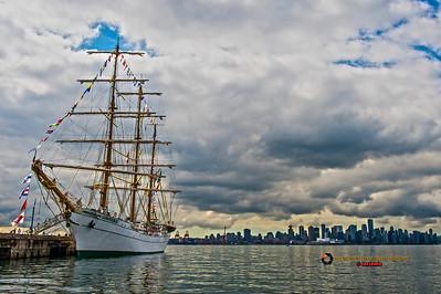 Mexican Tall Ship Cuahtemoc visits North Vancouver