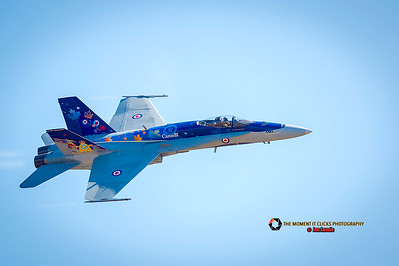 Canadian Forces CF 18 Hornet, Abbotsford Air Show