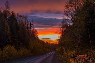 Sunrise in Tezzaron BC