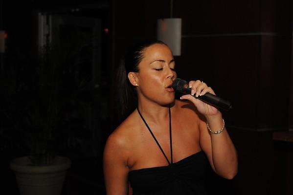 Jen Singing @ Samba Room 7-14-10