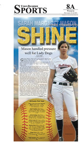 All-County Softball Player of the Year — Sarah Margaret Mason