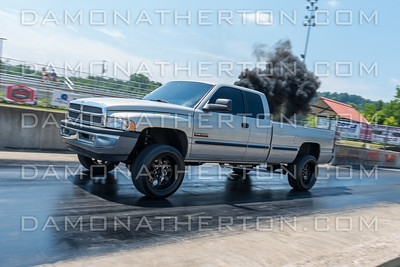 All Diesel Day - Ohio Valley Dragway - July 14, 2018