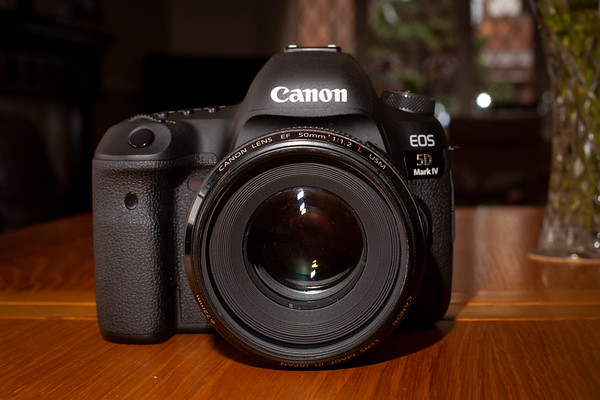 Here's my newest wedding camera, my No 1! The 5D MK IV offers everything its predecessor (the MK III) has plus 30 megapixels, unprecedented low light focussing, an enhanced processor and built in wifi, giving me the chance to share a few 'wow' shots with my couples on the spot.
