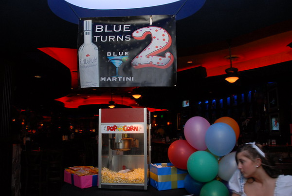 Blue Martini 2nd Birthday Party 3-24-07