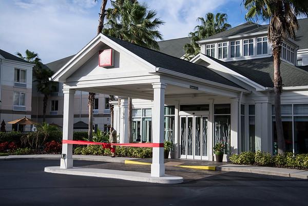 Grand Reopening Ribbon Cutting Party @ Hilton Garden Inn 1-14