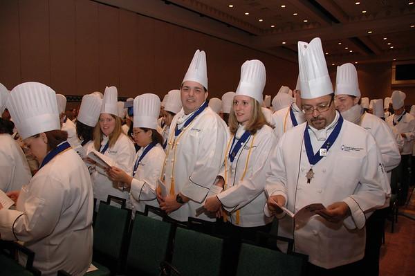 1-20-07 Orlando Culinary Academy Graduation  pt 2