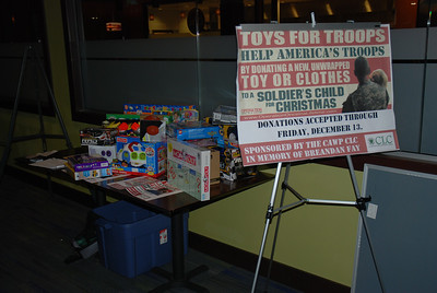 CLC Toys for Troops Party