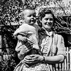 Betty Mollison with son John
