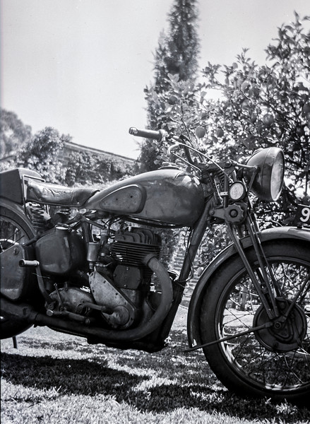 Andrtew Patterson's Motorcycle