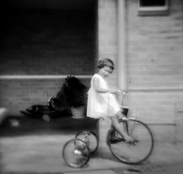 Jan on Tricycle