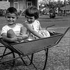 Jan & John In A Wheelbarrow