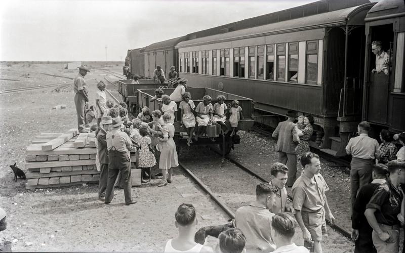 Watson-Trans Australian Railway stop.