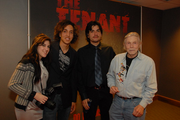 Cast & Crew Viewing Of Movie The Tenant @ Plaza 1-19-10