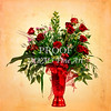 Red Rose Antique Arrangement 1803.05