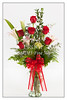 Red Roses and Lilly Wall Art 8048.02