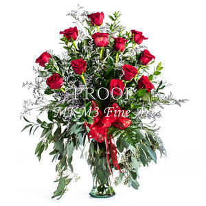 Red Rose Wall Art 1805.08