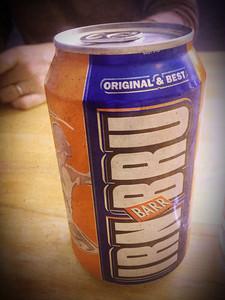 "Irn-Bru - ""Made in Scotland from Girders"""