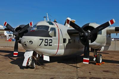 Grumman C-1A Trader at Quonset Air Museum.