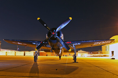 F8F Bearcat of the Commemorative Airforce (CAF).  A BIG thank you to Capt. Mark Hubbard for making these shots possible!