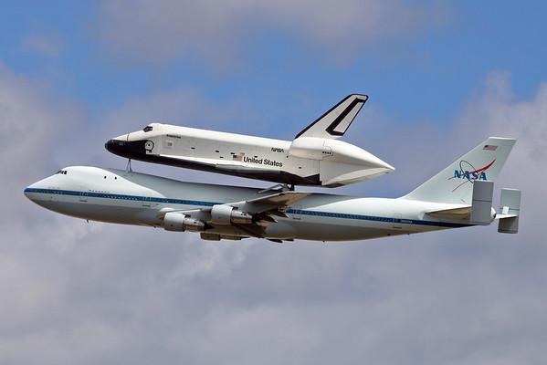 Enterprise/SCA Arrive at JFK