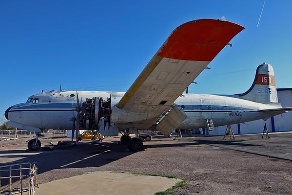 C-54 at Mesa-Falcon Field